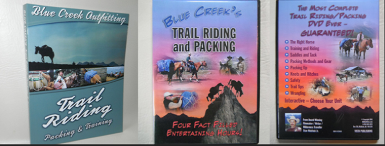 trail riding book DVD