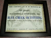 guide certificate