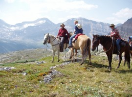 Alberta Rockies Trail Riding