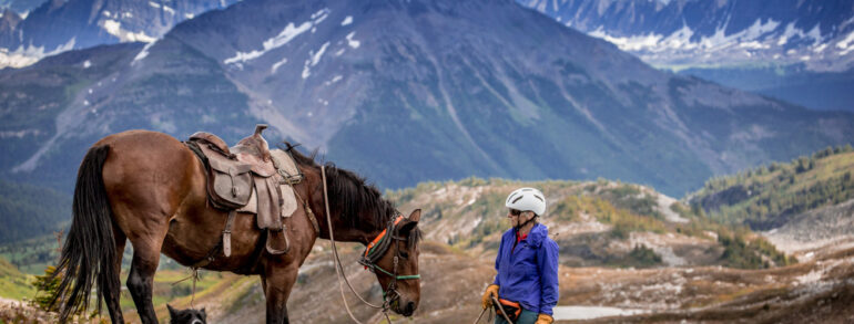 Northern Rockies Self-Guided Horse Trip